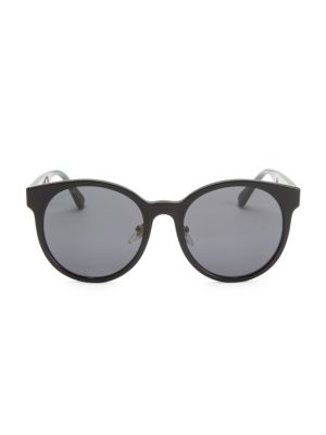 55 Mm Round Sunglasses by Gucci