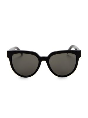 M28 54 Mm Cat Eye Sunglasses by Saint Laurent