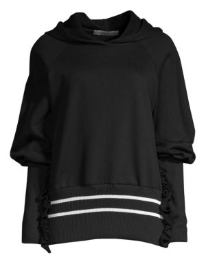 Way Past Curfew Hoodie, Black