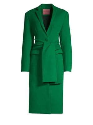 Trust Your Instincts Coat, Bright Green