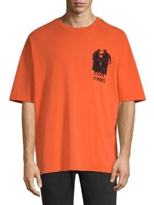 ETUDES STUDIO Études Museum Print T-Shirt - Orange