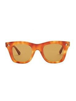 f35af0646068 CELINE. Square Tortoise-Shell Print Sunglasses