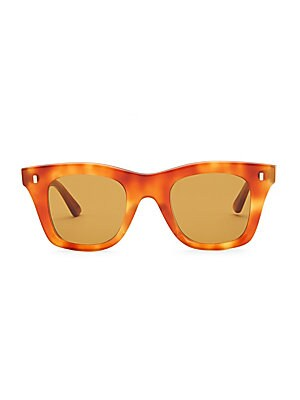 3f67bcc0b3fe CELINE - Square Tortoise-Shell Print Sunglasses - saks.com