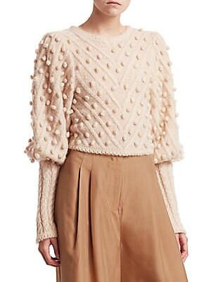 414576c0104 Zimmermann - Fleeting Bauble Sweater - saks.com