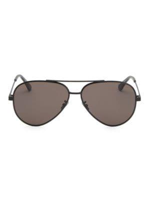 Saint Laurent 60mm Classic Aviator Sunglasses