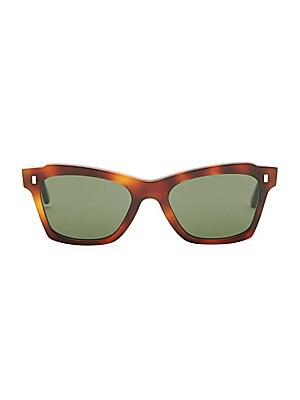 d647ef6232 CELINE - Modern Cat-Eye Tortoise-Shell Sunglasses - saks.com