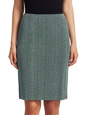 Sneaky Knit Pencil Skirt, Sage