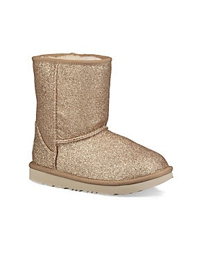 e8db5ac0b01 Ugg - Little Girl s   Girl s Ugg Classic II Short Glitter Boot