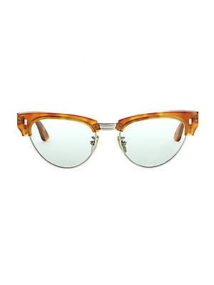 68fe2304fdc CELINE - 51MM Rounded Cat Eye Sunglasses - saks.com