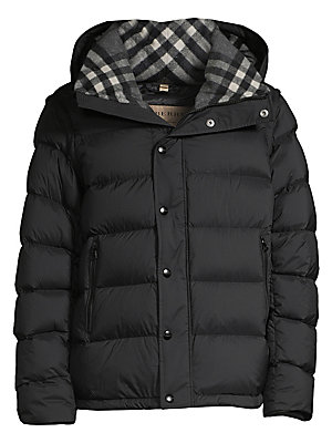 1a70fdc93fe7 Burberry - Hartley Hooded Down Puffer Coat - saks.com