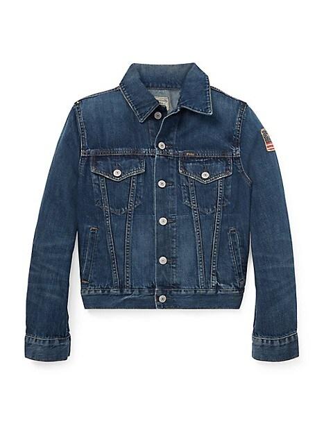 Boy's Trucker Denim Jacket