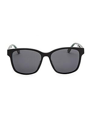 130c1fa44d Gucci - 56MM Unisex Acetate Sunglasses - saks.com