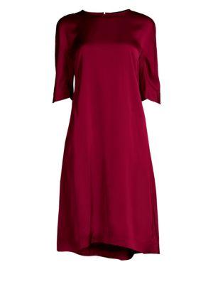 Teorema Drop Waist Shift Dress by Max Mara
