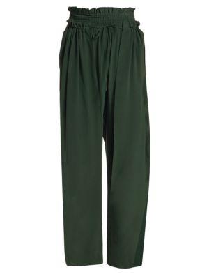 d03d6bb456e169 Sea - Solange Long-Sleeve Button-Down Ruffle Silk Blouse - saks.com