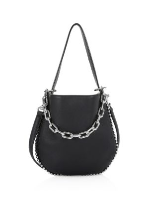 Roxy Mini Leather Crossbody Hobo by Alexander Wang