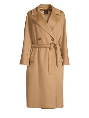 Katai Double Breasted Wool Coat by Weekend Max Mara