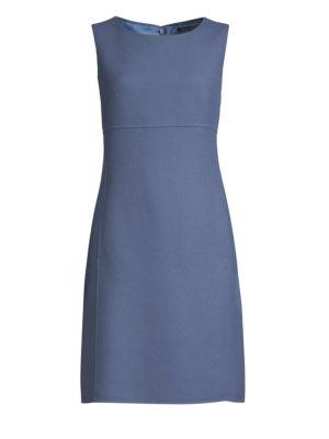 Weekend Max Mara Linings Contrast Short Sleeve Sheath Dress