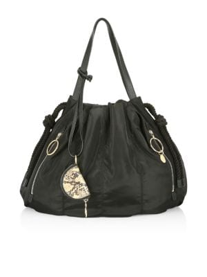 See By Chloé Large Drawstring Tote