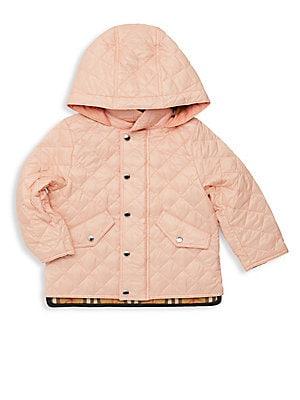 7f2d27d8283 Burberry - Baby Girl s   Little Girl s Ilana Quilted Coat - saks.com