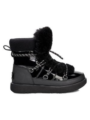 1bb4983b9eb Women's Highland Fur Trimmed Waterproof Boots