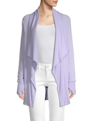 LILLY PULITZER Elyssa Open Front Wrap in Light Lilac