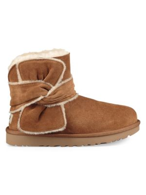 Mini Spill Seam Sheepskin Boots by Ugg