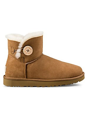 6deaac799d2 Ugg - Mini Bailey Button Ankle Boots