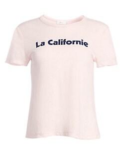 0fb460997bc1 A.L.C.. La Californie Linen Tee