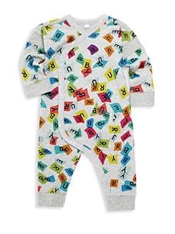 fac0d457e1b Burberry. Baby s Confetti Logo Sleeper