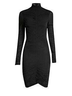 2d656711ae92 QUICK VIEW. Diane von Furstenberg. Olivia Ruched Turtleneck Dress