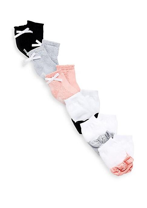 Baby Girls Ashley SixPack Socks Set