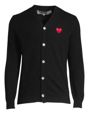 Wool Heart Cardigan
