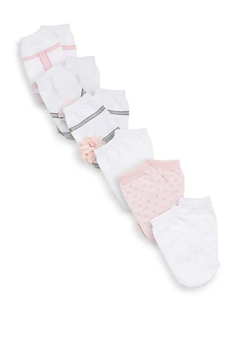 Baby Girl Brooklynn SixPair Sock Set
