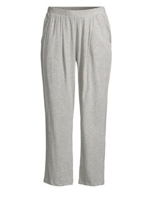 SKIN Everywhere Cropped Pajama Pants in Gray
