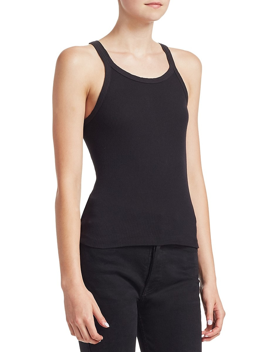 RE/DONE Downs WOMEN'S THE RIBBED TANK