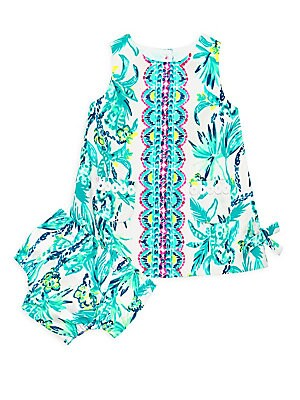 b98835e7d Lilly Pulitzer Kids - Baby Girl's Lilly Shift Dress & Bloomers Set -  saks.com