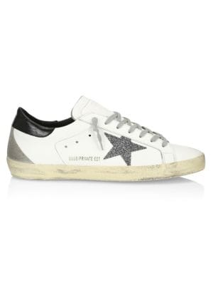 Superstar Leather Sneakers by Golden Goose Deluxe Brand