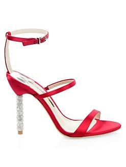 dc3e73c45c6 QUICK VIEW. Sophia Webster. Rosalind Satin Ankle-Strap Sandals