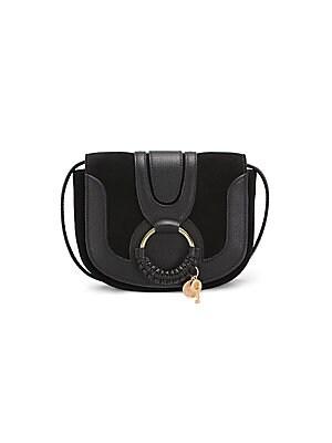 Chloé - Small Marcie Leather Crossbody - saks.com e3b16531057d7