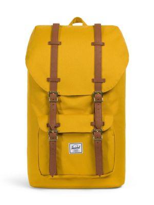 Little America Backpack - Yellow, Arrowood