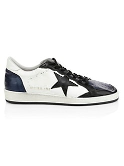 Product image. QUICK VIEW. Golden Goose Deluxe Brand. Men s Leather Ball Star  Sneakers dcdfb617bf1