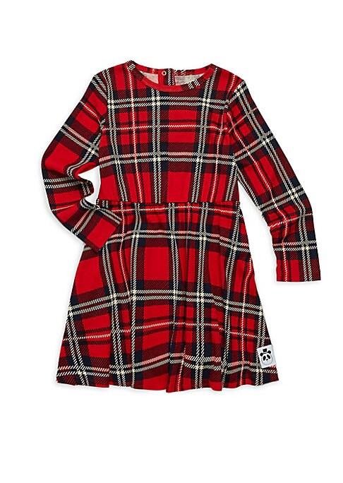 Baby Girls Little Girls  Girls Tartan TShirt Dress