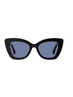 4c40b61d7cb Fendi - 70mm Logo Print Cateye Sunglasses