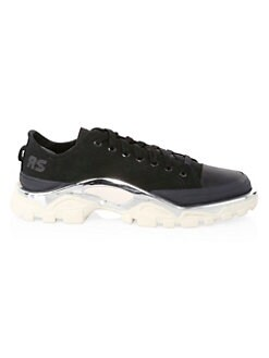 quality design 14792 fb298 Product image. QUICK VIEW. adidas by Raf Simons. Detroit Runner Lace-Up  Canvas Sneakers
