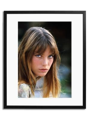 Sonic Editions The Stare Of Birkin Framed Photo
