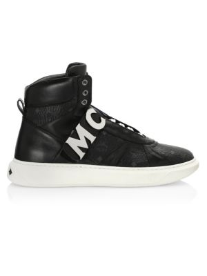 High Top Strap Sneakers by Mcm