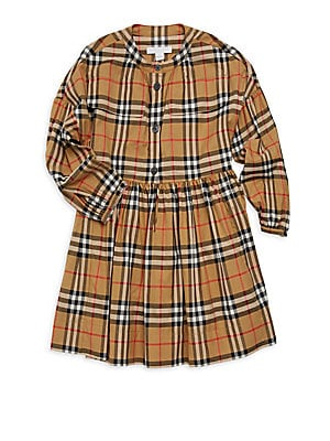 aae0cd8248d7 Burberry - Baby Girl's & Little Girl's Cressida Plaid Fit-&-Flare ...