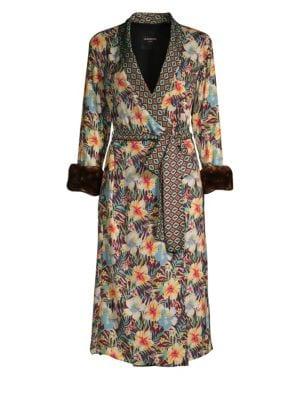 Le Superbe Hibiscus Robe Dress