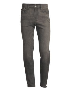 7 FOR ALL MANKIND Men'S Slimmy Slim Stretch-Denim Jeans, Cloudburst in Sabotage