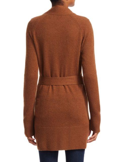 Theory Malinka Cashmere Knit Robe Cardigan | SaksFifthAvenue